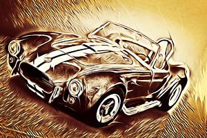Shelby Cobra - Hell On Wheels (Vintage)