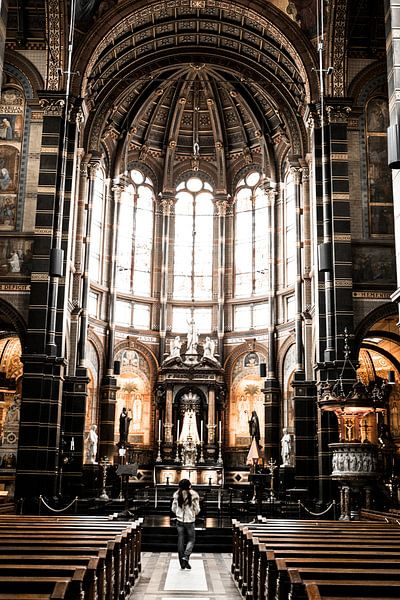 St. Nicolaaskerk Amsterdam binnen van PIX URBAN PHOTOGRAPHY