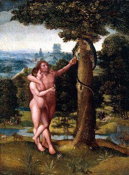 Adriaen Isenbrandt. Adam et Eve