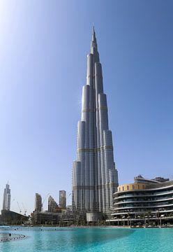 Une journée ensoleillée à Dubaï au Burj Khalifa