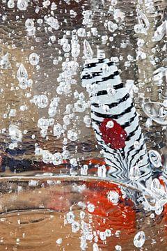 glas abstractie van Ko Hoogesteger
