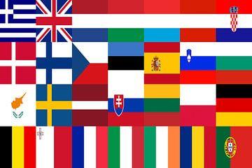 Vlaggen van de Unie 1: gerangschikt van