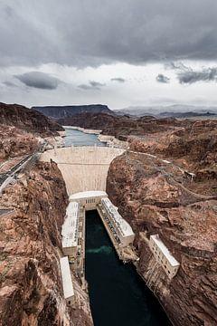 Hoover Dam - 2 van Keesnan Dogger Fotografie