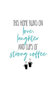 Starker Kaffee von Melanie Viola