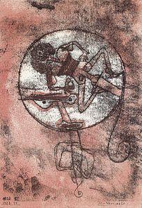 Paul Klee, Der Verliebte, 1923, litho