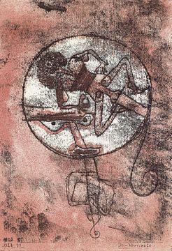 Paul Klee, De Verliefde, 1923, litho van Atelier Liesjes