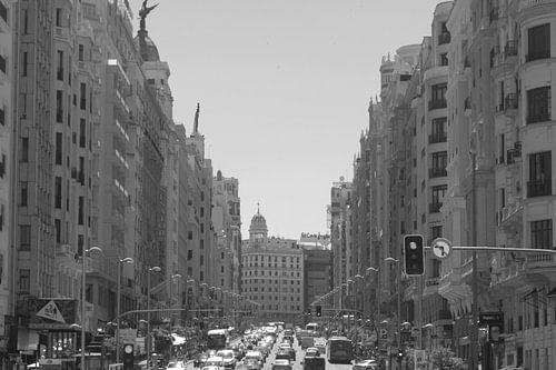 Gran Via in Madrid von Ilona van der Burg
