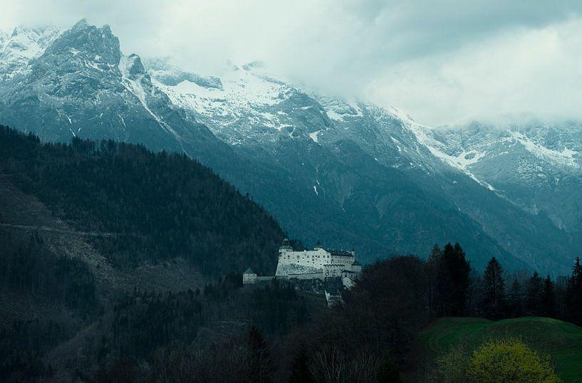 Kasteel in de bergen von Jo Haegeman