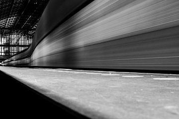 Zug vorbei von Bart Rondeel