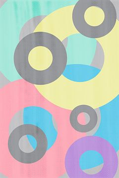 Geometric Art No. 3 van Melanie Viola