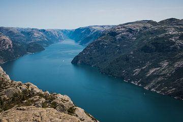 Kanzel - Norwegen von Evy De Wit