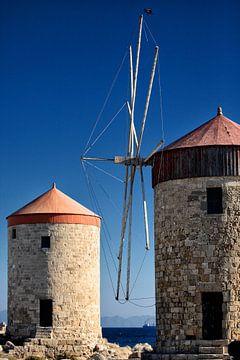 griechische Windmühlen sur Jana Behr