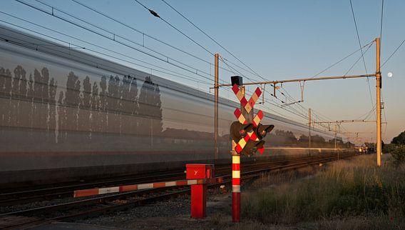 De trein is altijd een beetje reizen