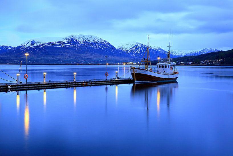 Akureyri Hafen von Patrick Lohmüller