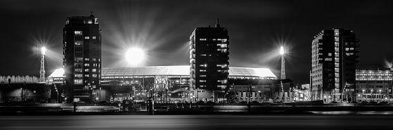 Panorama Stadion De Kuip - Feyenoord van Vincent Fennis