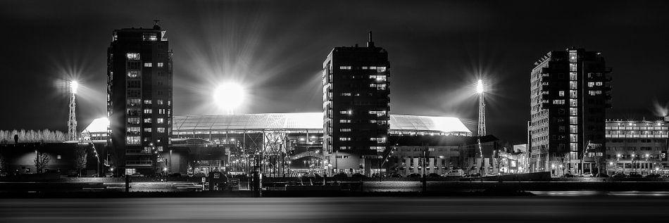 Panorama stadion de kuip feyenoord van vincent fennis op for Canvas feyenoord de kuip