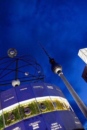 Alexanderplatz Berlijn van Liesbeth van Asseldonk