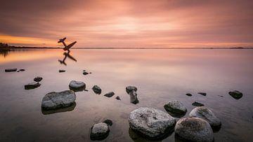 Flugzeug denkmal von Mario Visser