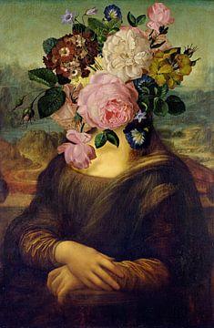 Mona Lisa - Art Combined von Marja van den Hurk