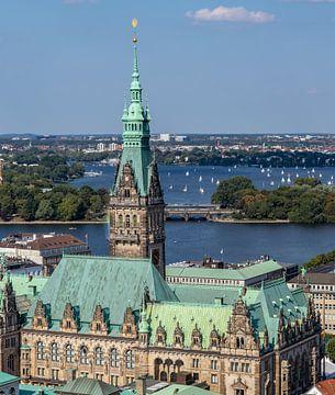Hamburg-altes Rathaus von Roland Hoffmann