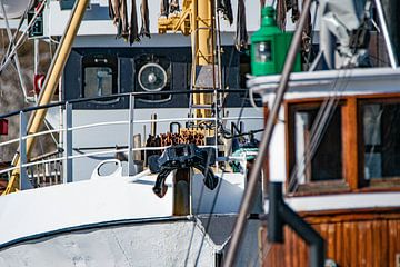 Vissersvaartuigen in de haven van Kai Müller