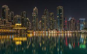 Dubai bij nacht 4