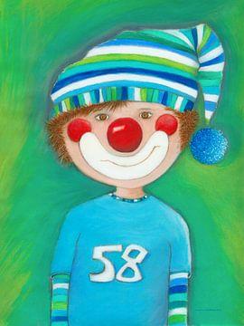 Clown Junge Levi von Atelier BuntePunkt