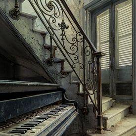 Piano bij Ontvangst van Perry Wiertz
