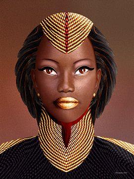 Afrikaanse Schoonheidskoningin van Ton van Hummel (Alias HUVANTO)