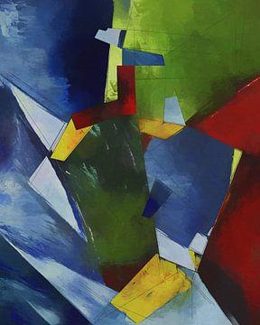 Geometrisches Muster 15 von Angel Estevez