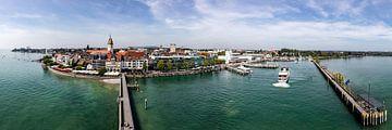 Friedrichshafen Bodensee Panorama von Uwe Ulrich Grün