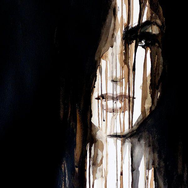 Paint it black von Olga Tromp