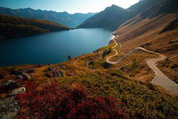 Lago Ritòm - Ticino - Zwitserland van Felina Photography