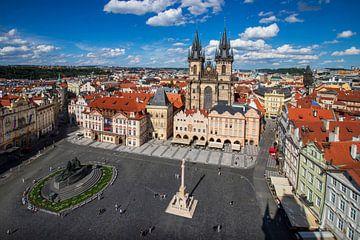 Prager Stadtplatz von Antwan Janssen