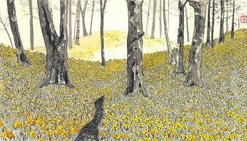 Daffodilforrest von Yvonne Jansen
