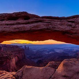 Mesa Arch - Canyonlands 1 van Joram Janssen