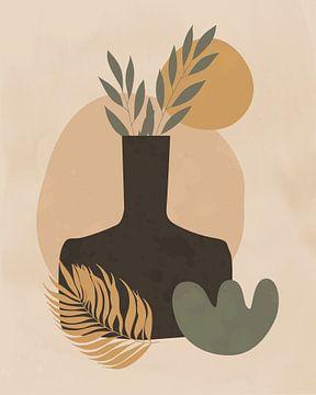 Nature morte minimaliste d'un vase sur Tanja Udelhofen