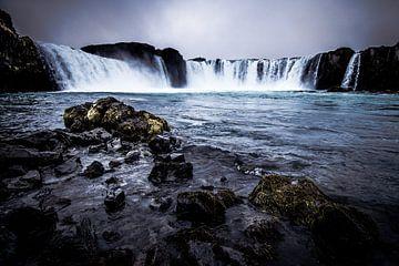 Waterval IJsland Godafoss van Kim van Dijk