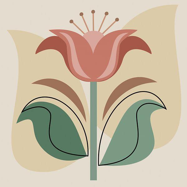 Nur eine Blume von Thea Walstra