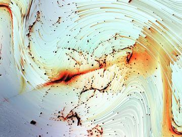 Abstract dynamiek van Maurice Dawson
