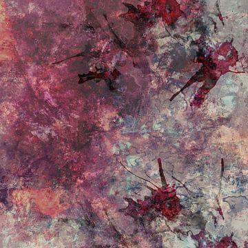 abstract painting II van Vanessa Galeote