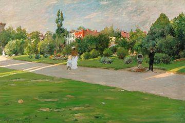 Park in Brooklyn (voorheen Prospect Park, Brooklyn), William Merritt Chase