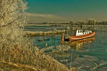 Winter in Culemborg van Stefan Antoni