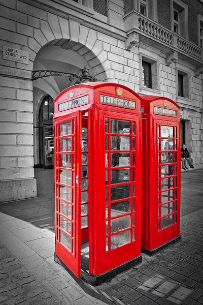 British Phone Box van Melanie Viola