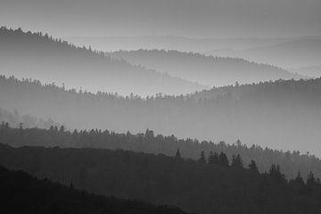 Couches dans les montagnes