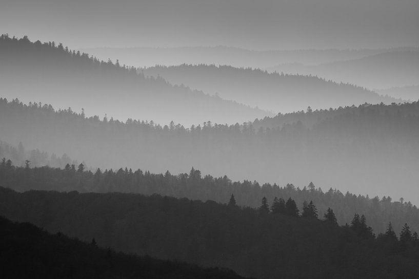 Laagjes in de bergen van Sam Mannaerts Natuurfotografie