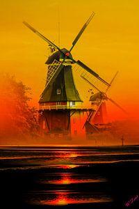 Greetsiel Windmühlen von