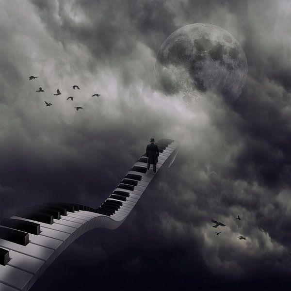 Walk to the moon sur Ursula Di Chito