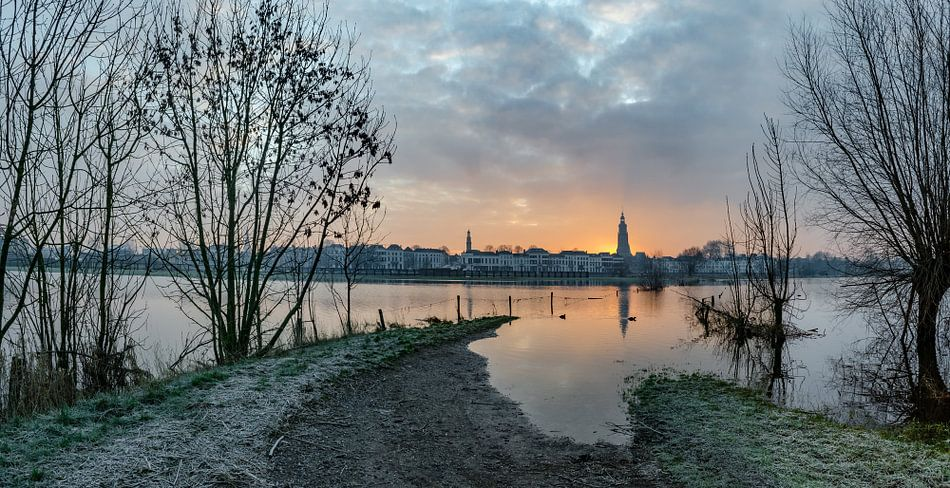 Zonsopkomst in Zutphen