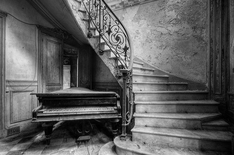 Duotone - Piano von Angelique Brunas